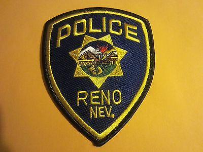 Collectible Nevada Police Patch Reno New