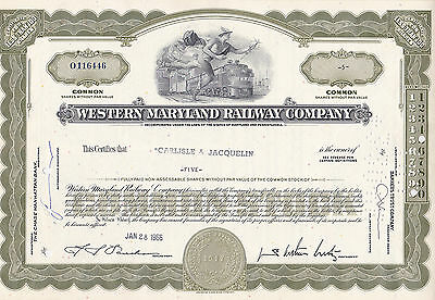 Western Maryland Railway Company-share v.1966