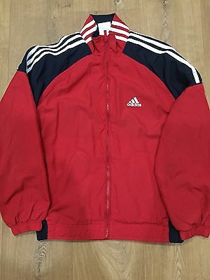 """Adidas Tracksuit Jacket Top Size 32-34"""" 11-12 Years"""