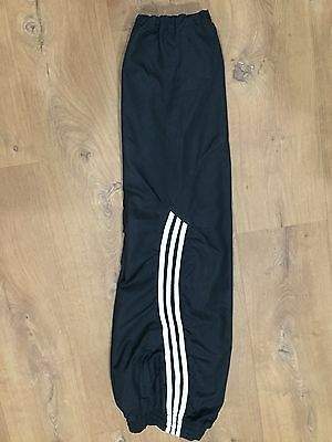 """Boys Adidas Tracksuit Bottoms Size 26"""" 11-12 Years"""
