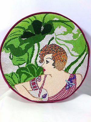Handcrafted Needlepoint Pillow