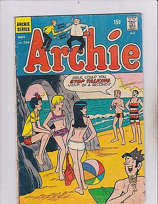 Archie Comic Series! Archie! Issue 204!