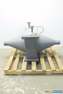 Xchanger C-150 37318 Steel Heat Exchanger 4In Air 1In Liquid Fittings D550194
