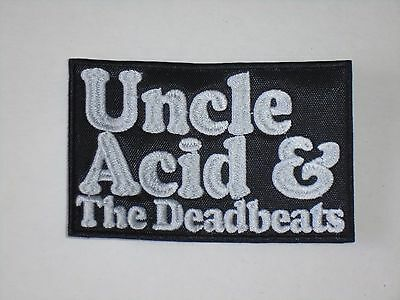 Uncle Acid And The Deadbeats Rock/doom Metal Embroidered Patch