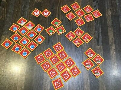 UK Scouting Cub Scout Challenge Badges Discontinued various