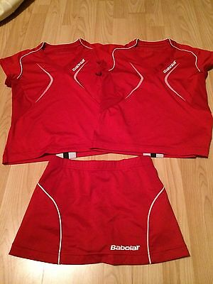 Girls Babolat Tennis Outfit