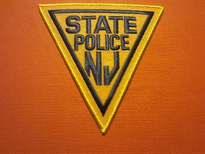 Collectible New Jersey State Police Patch New