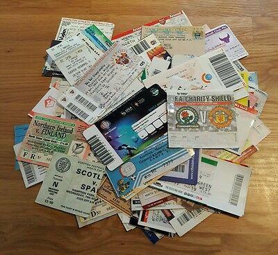 110 x TICKETS INCLUDING MANY BIG MATCH
