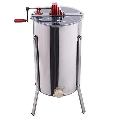 Premium Large 2 Frame Honey Extractor Beekeeping Equipment Large Stainless Steel