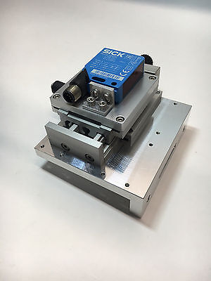 "SICK Optic Electric WL12L-2B530 Photoelectric Sensor w/ 1/2"" Linear Stage"