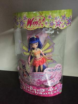 Winx Club ENCHANTIX MUSA Bambola 27 cm MIB, 2008