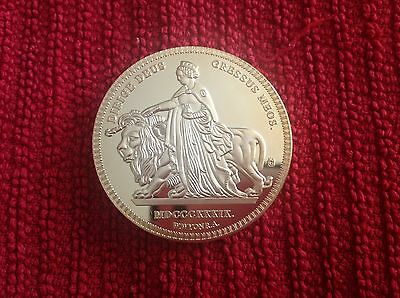 1839 UNA AND THE LION SOVEREIGN 40mm