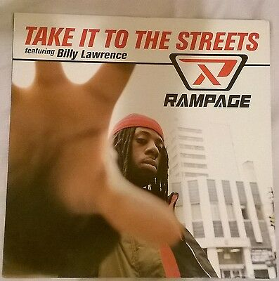 Rampage Wild For The Night/take It To The Streets 12Inch 755963913