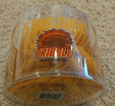 Star Trek Orange Tribble 3 1/2-Inch Plush Loot crate Exclusive Quantum Mechanix