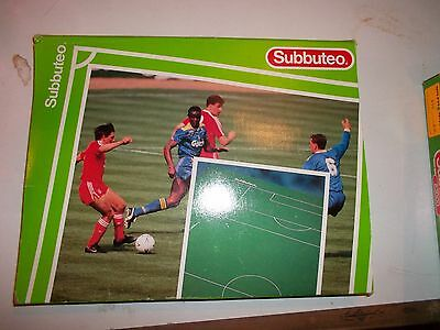 Subbuteo Modern Football Pitch Ref 61109 Boxed In Very  Good Condition