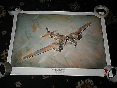 Blenheim YHP V5874 21 Sqn RAF Watton The Ascension of the 21st Signed Print