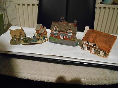 N Scale  Country  Cottage  Model Buildings  In  Pottery