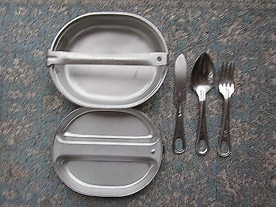1967 Vietnam War Era Us Regal Mess Kit Complete W/ Utensils - Free Usa Ship!