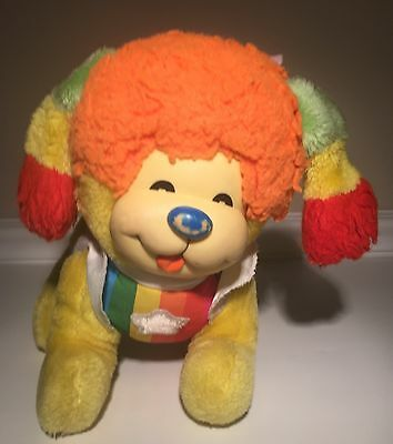 Vintage Rainbow Brite Puppy Bright - Dog 1980s Plush Toy