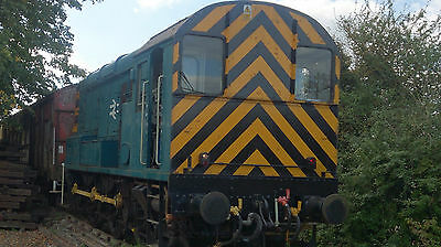 Loksound V4.0 DCC Sound Decoder of Dual Braked Class 08 on Chinnor Railway