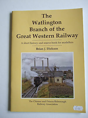 The Watlington Branch of the Great Western Railway (GWR, Chinnor)