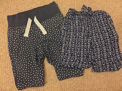 18-24 Months Girls Trousers 2 Pairs.