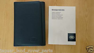 English Range Rover Sport L494 Owners Manual Handbook ONLY 2013 - 2016