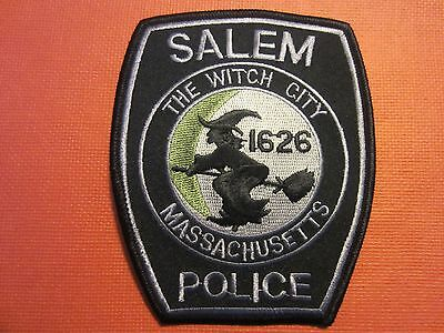 Collectible Massachusetts Police Patch Salem Subdued New