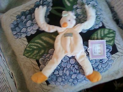 Bunnies By The Bay Silly Buddy Emmite'Duck  Soft Lovey Toy