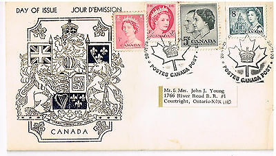Royal Train Post Office Stamped 1973 Day of issue