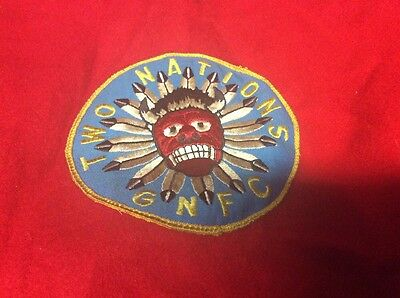 Vintage Heaven Red Wool Boy Scouts Of America Official Jacket Patches Bull