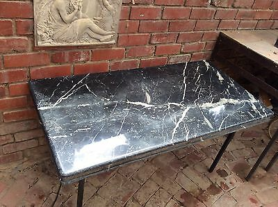 Black Marble Table Tops X2