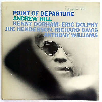 POINT OF DEPARTURE Andrew Hill Eric Dolphy original Blue Note 4167 NEAR MINT!!!!