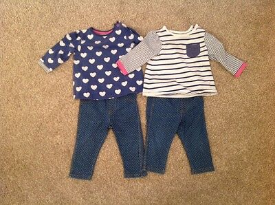 Twin girl clothes 6-9 months