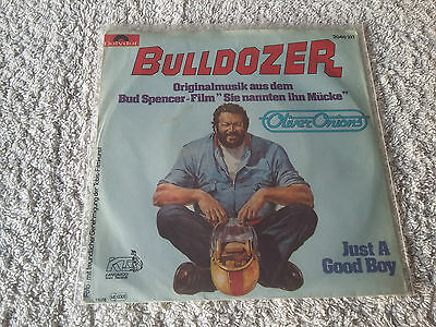 Oliver Onions    Bulldozer / Just a good boy    Bud Spencer    Polydor  2040 211
