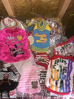 36 pieces  Whole sale lot dog supplies and clothes #1