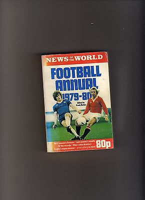 News Of The World Football Annual 1979-80