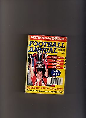 News Of The World Football Annual 1990-91