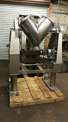 2 cuft Patterson Kelley twin shell blender SS