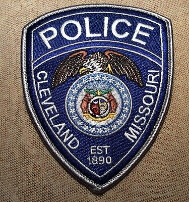 MO Cleveland Missouri Police Patch