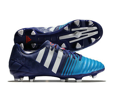 adidas Nitrocharge 1.0 FG Purple Firm Ground Performance Football Soccer Boots