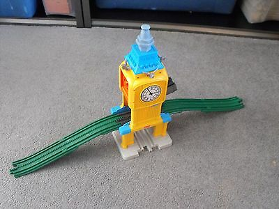 Fisher Price Geo Trax Disney Cars 2 Escape From Bentley Tower