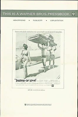 Island of Love (1963) Robert Preston, Tony Randall, Giorgia Moll  pressbook