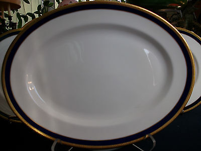 COALPORT ELITE ROYALE (c.1972+) LARGE SERVING PLATTER- EXCELLENT! ELEGANT! MINT!
