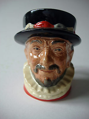 Royal Doulton Beefeater Small Character / Toby Jug D6233