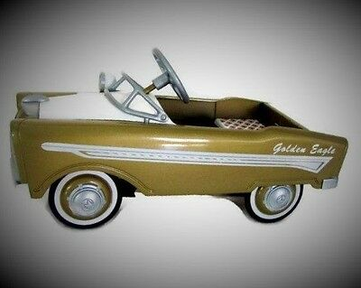 Pedal Car 1957 Chrysler Windsor Rare Vintage Hot Rod Sport Midget Show Model