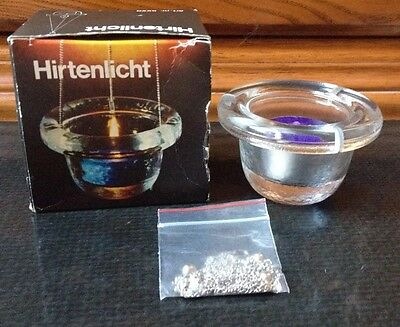 Wiesenthalhutte Hirtenlicht Hanging Candle Holder From West Germany New In Box