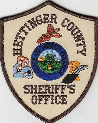 Hettinger County Sheriff's Office North Dakota Nd Police Patch