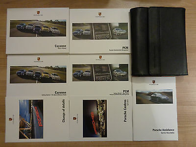 Porsche Cayenne Owners Handbook/Manual and Pack 10-12