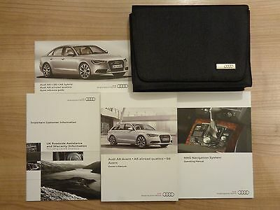 Audi A6/S6/Allroad Avant Owners Handbook/Manual and Wallet 11-16